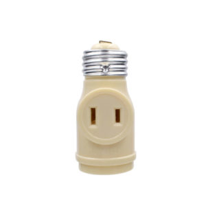 Keyless Socket Adapter with 2 Outlets- IV