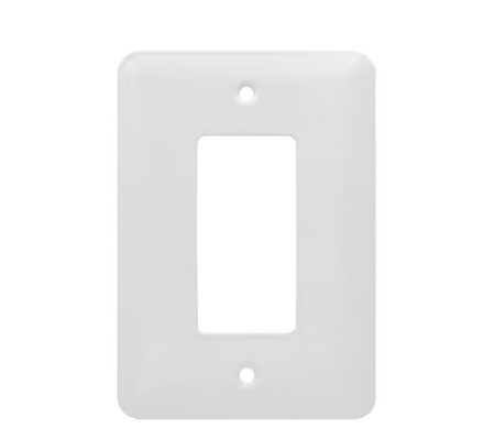 1 Gang MID Smooth Metal Decorator Device Wall Plate