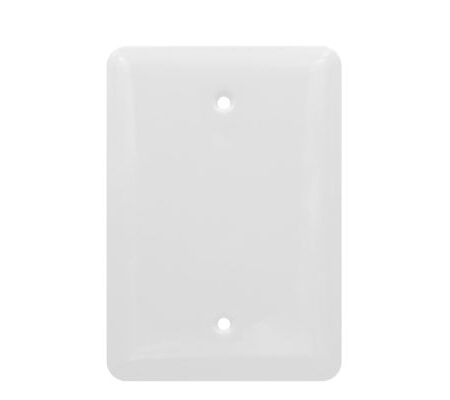 1 Gang MID Smooth Metal Blank Wall Plate