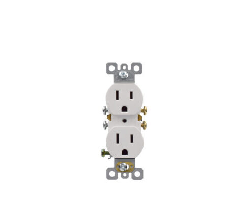 15 Amp Residential Grade Duplex Receptacle