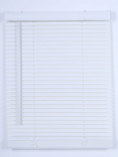 Cordless 1' Vinyl PVC Mini Blinds