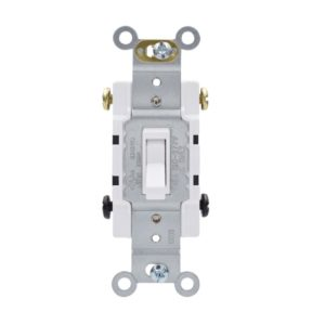 15 Amp 4 Way Residential Grade Toggle Wall Switch